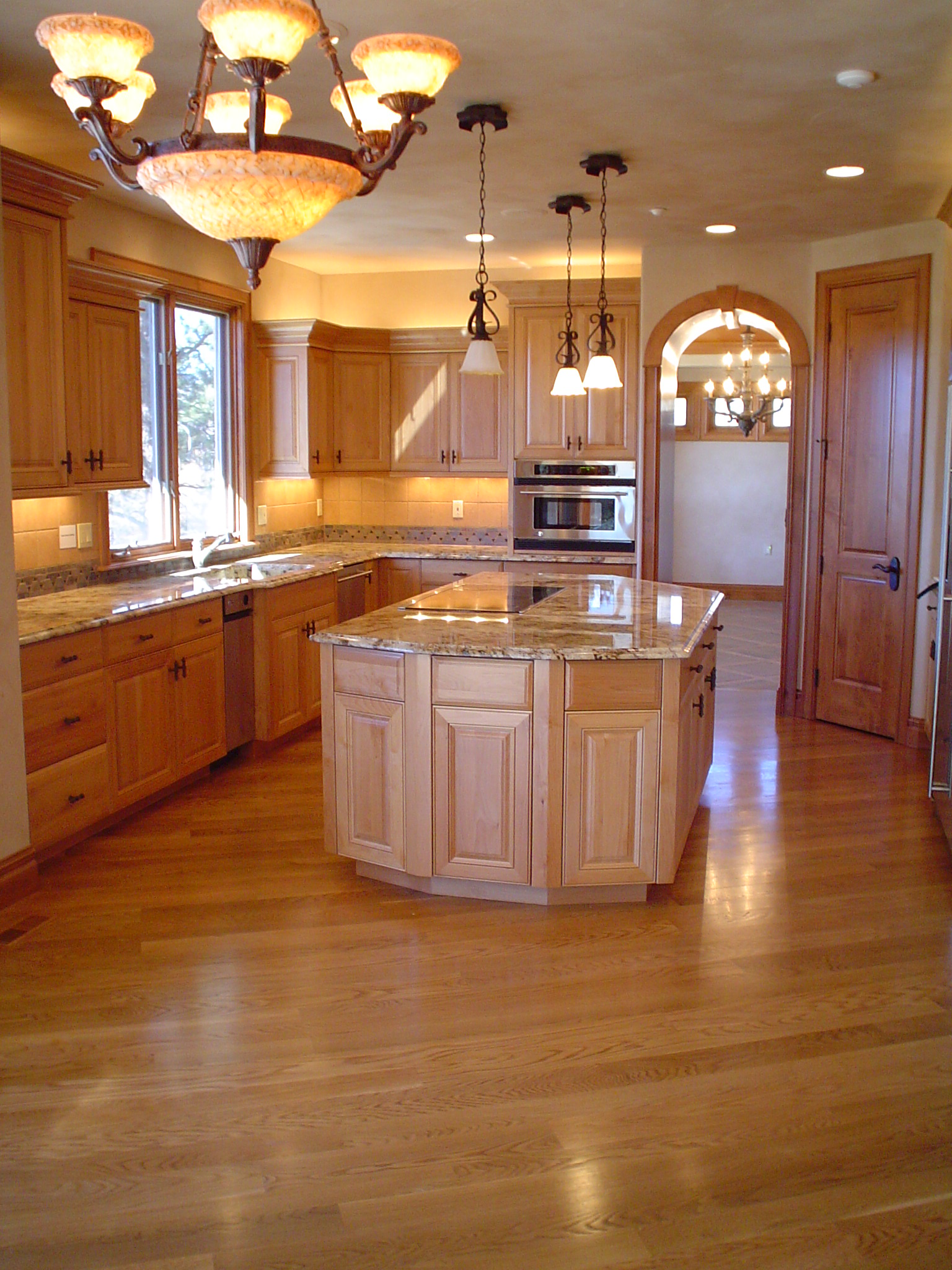 Custom Home Finishes New Construction