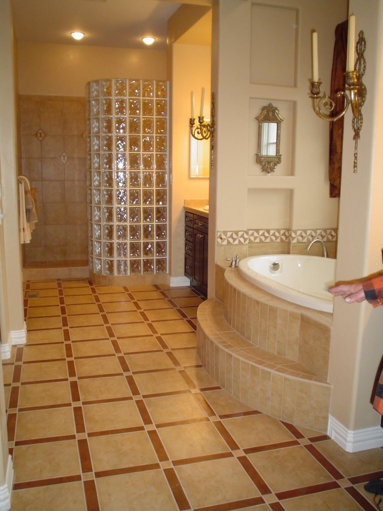 Master Bath Finishes New Construction
