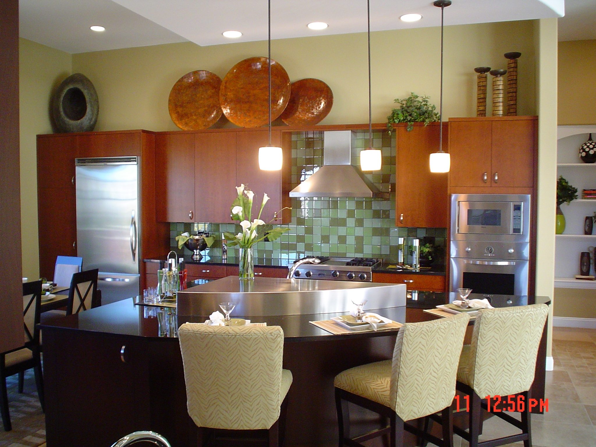 Model Home Kitchen