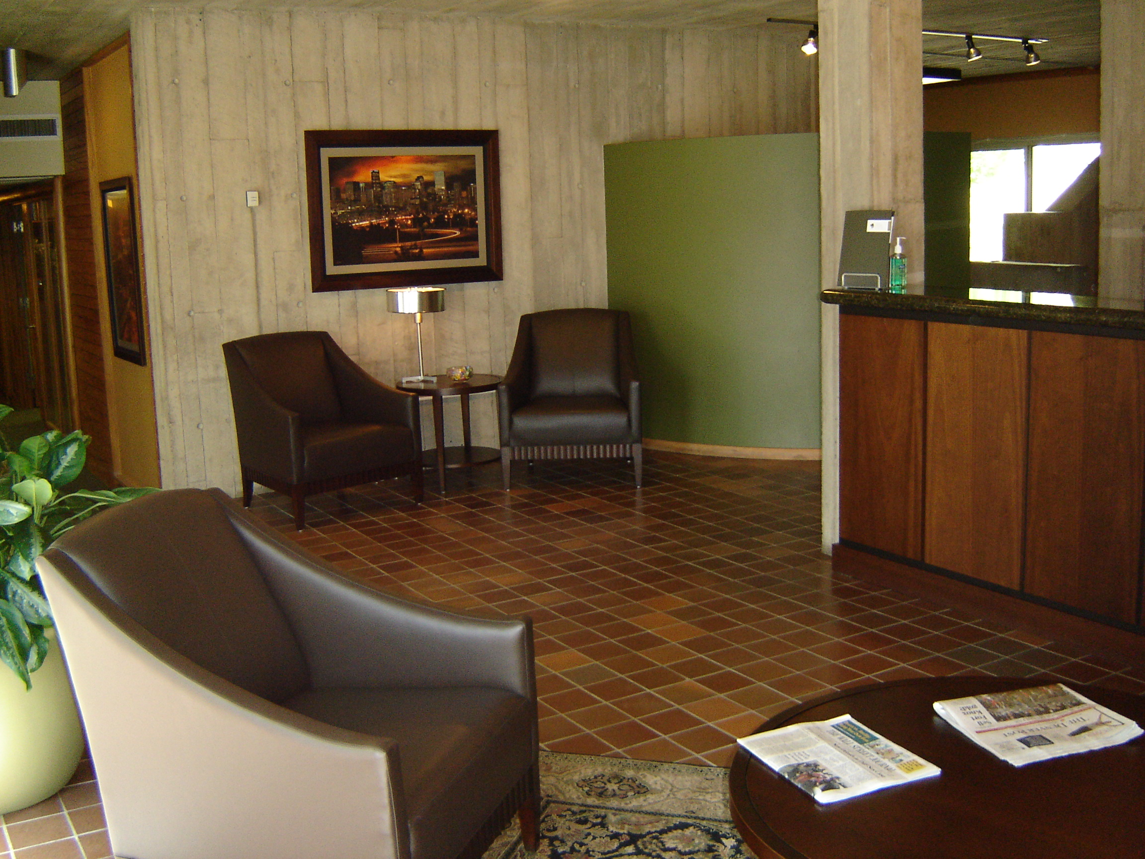 Corporate Lobby Refurbishment Attorney Offices Englewood CO