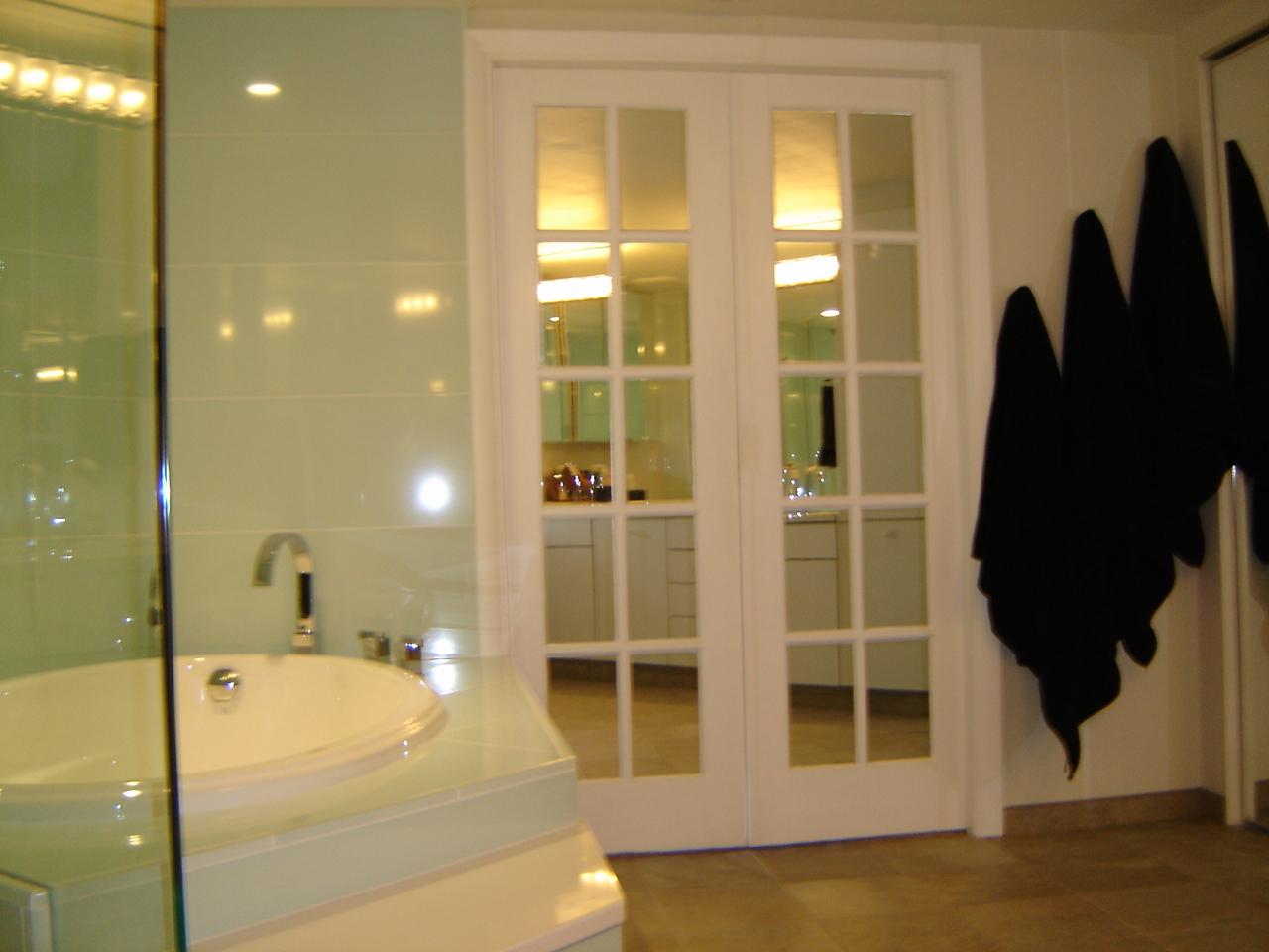 Doors to Master Bedroom