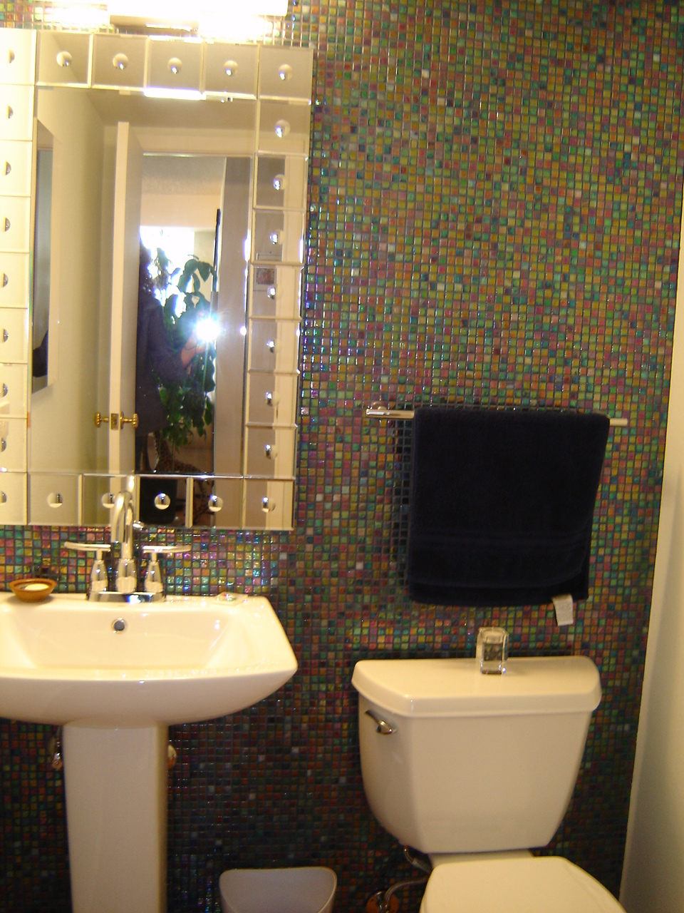 Litwin Powder Room Remodel Denver Co Schuster Design