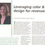 Leveraging Color & Design for revenues, Page 1