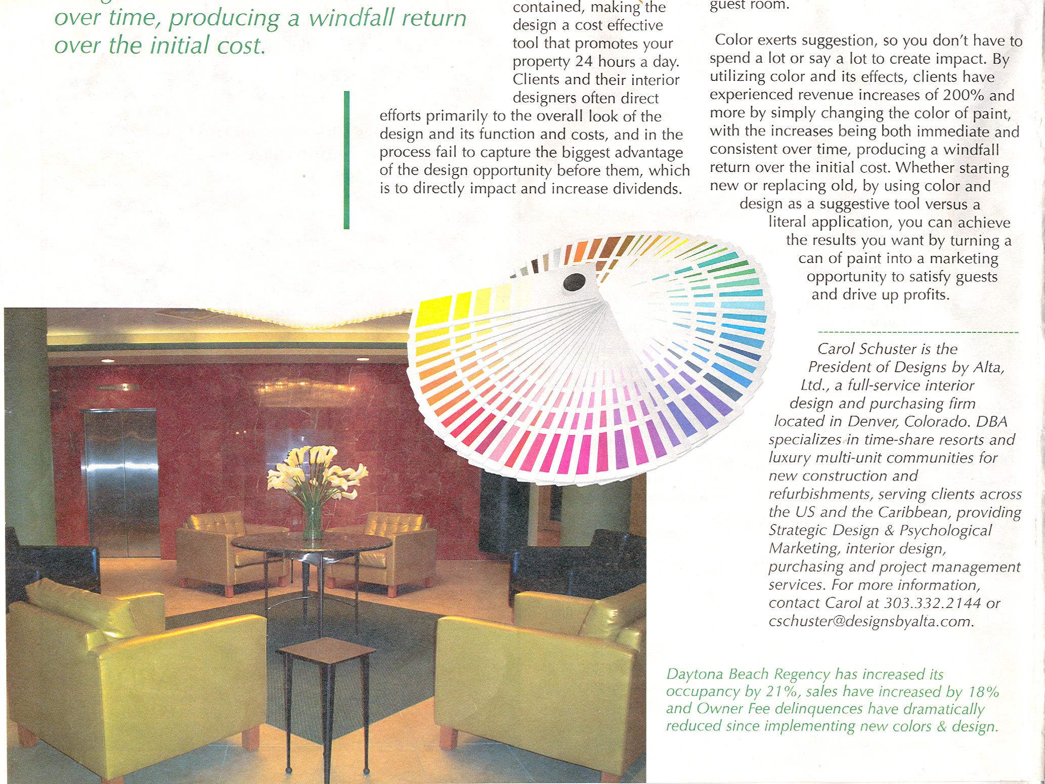 Leveraging Color Design For Revenues Page 2