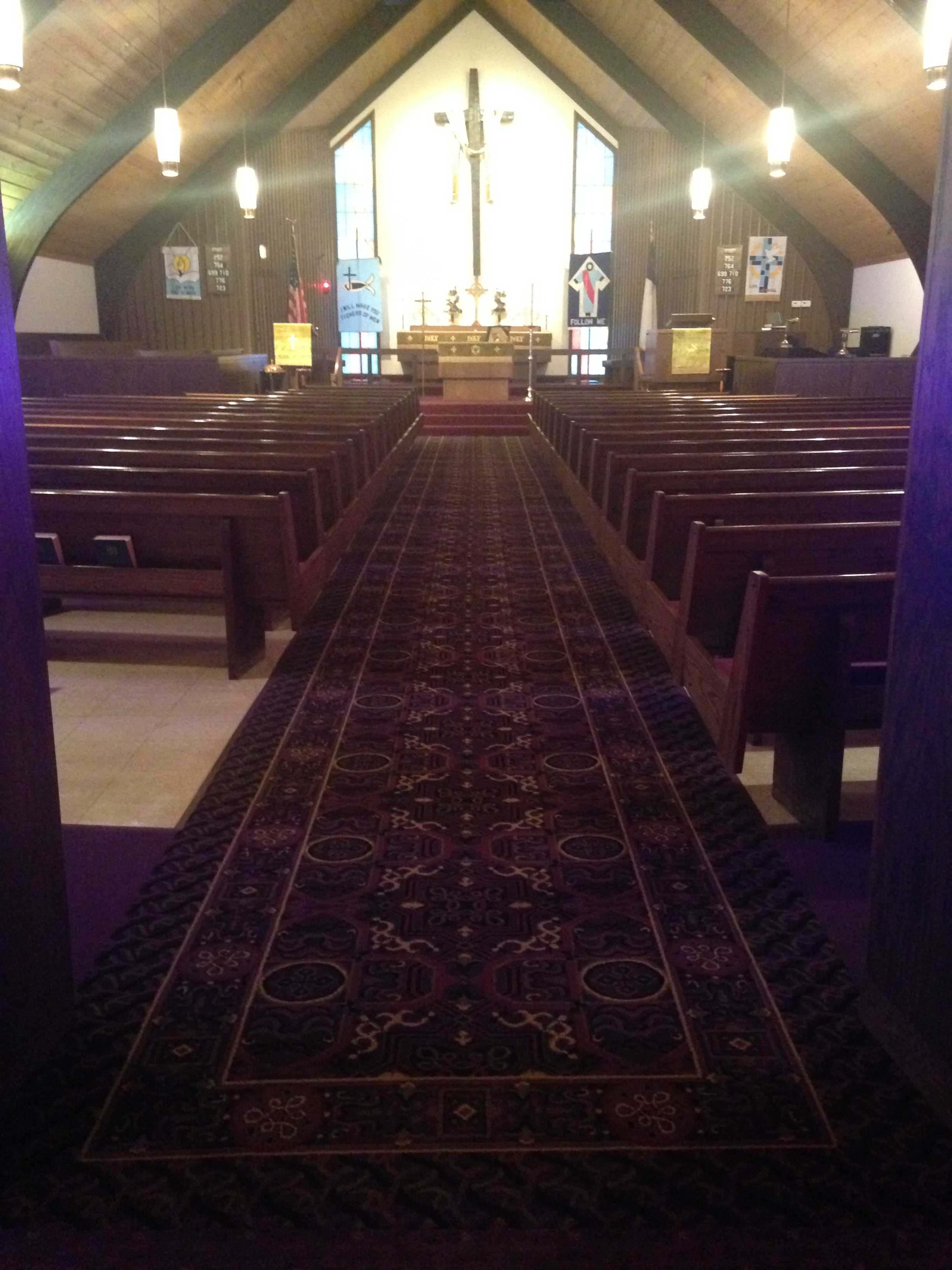 Church Gets New Carpet Schuster Design Studio Inc
