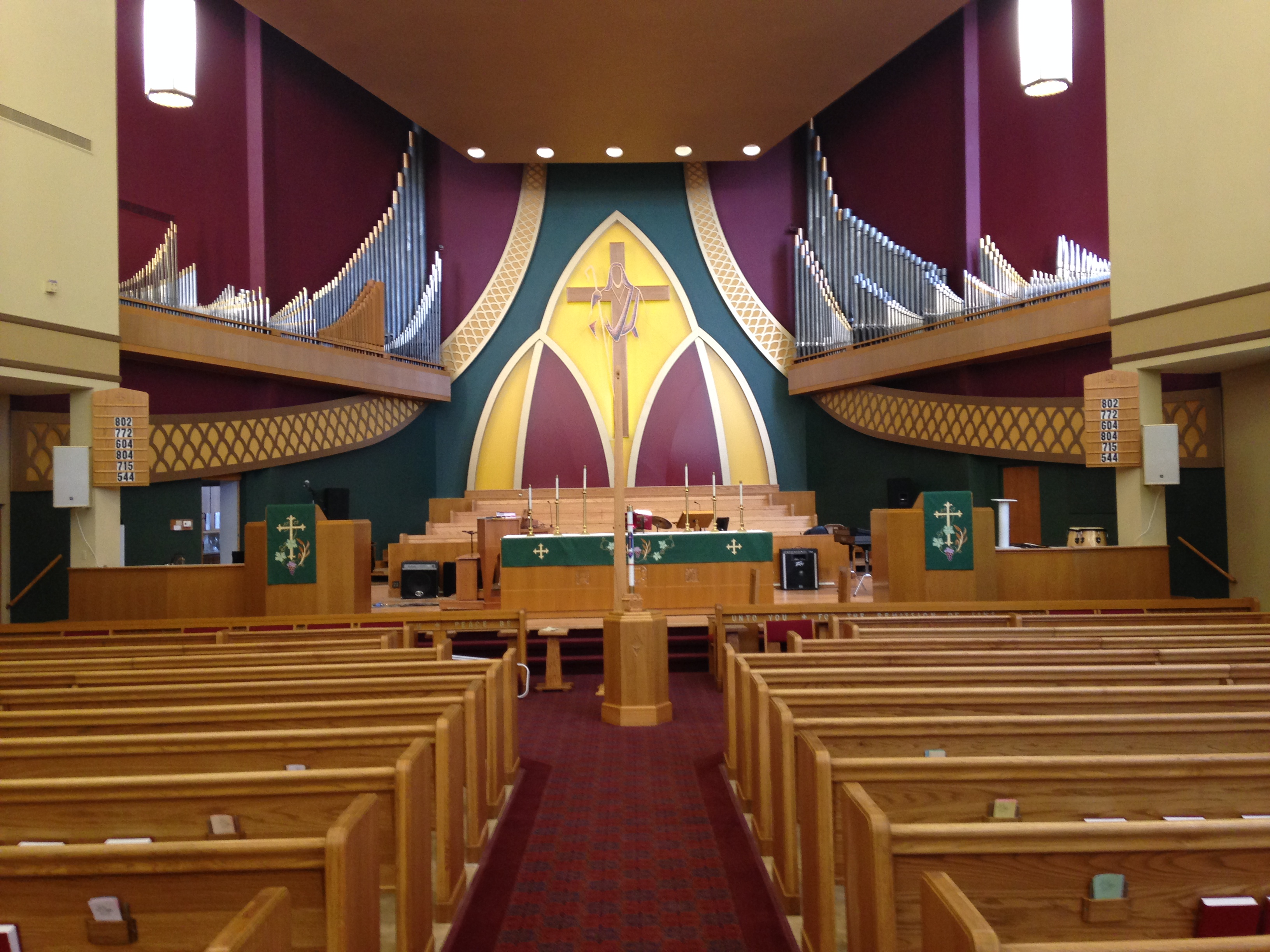 Sensational St John Lutheran Church Sanctuary Narthex Chapel Interior Design Ideas Clesiryabchikinfo